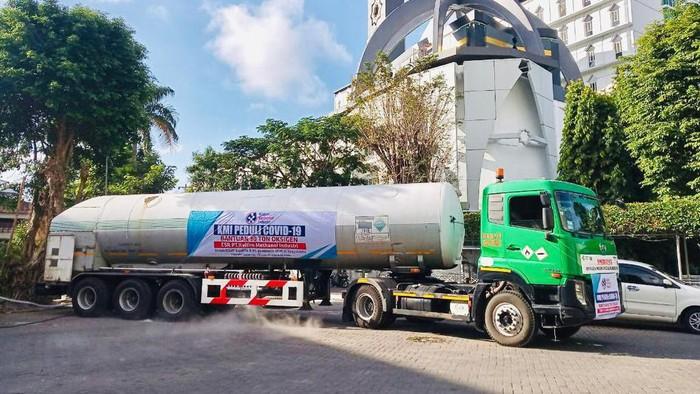 Oksigen bantuan dari UGM untuk RSUP Dr Sardjito