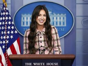 Olivia Rodrigo Promosi Vaksin di White House, Bajunya Lebih Tua dari Usianya
