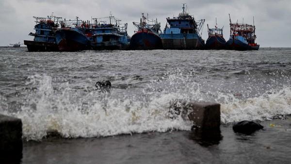 Rata-rata permukaan laut global naik sebesar 3,3 milimeter per tahun. Sudah begitu, hujan semakin intens dengan atmosfer yang makin memanas. Pradita Utama/detikcom.