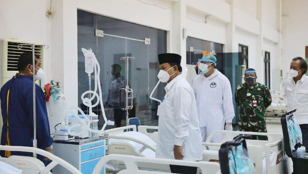 Pengamat Puji Prabowo Sulap Pusdiklat Jadi RS Darurat COVID-19