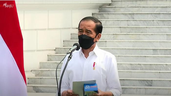 Presiden Jokowi (Foto: Tangkapan layar YouTube Setpres)