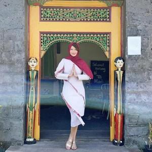 Gaya Tamara Blezynski Pakai Hijab Bergo, Jawab Rasa Penasaran Warganet