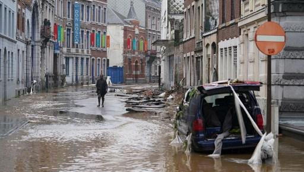 31 Warganya Tewas Akibat Banjir, Belgia Kibarkan Bendera Setengah Tiang