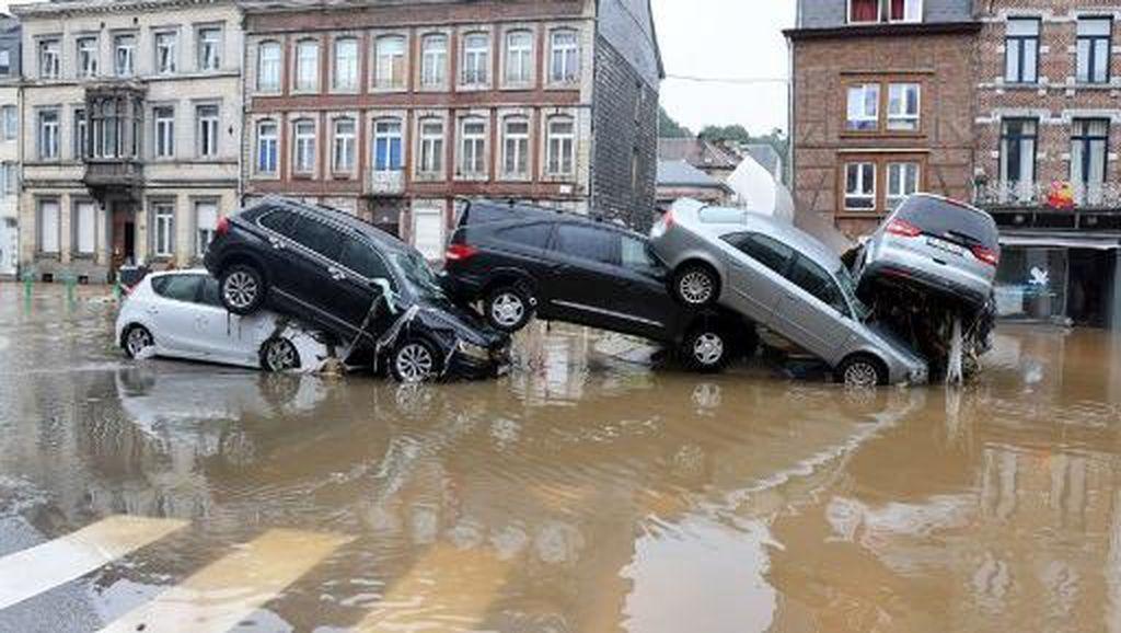 Banjir Parah Juga Terjang Belgia, 9 Orang Tewas