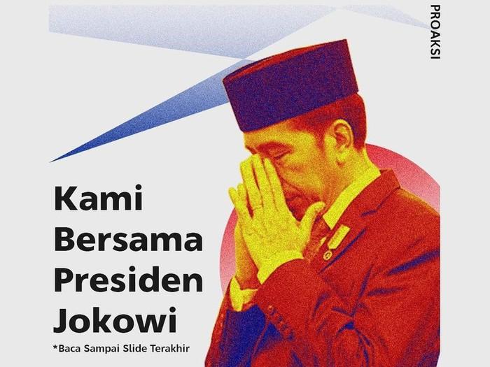 bem fisip Unpad kritik Jokowi