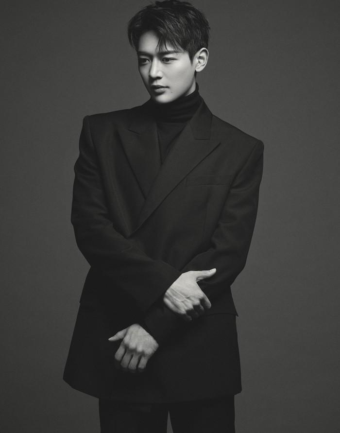 Foto profile Choi Minho terbaru.
