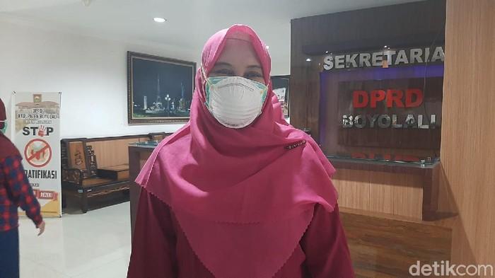 Direktur RSUD Pandan Arang Boyolali, Siti Nur Rokhmah Hidayati, Jumat (16/7/2021).