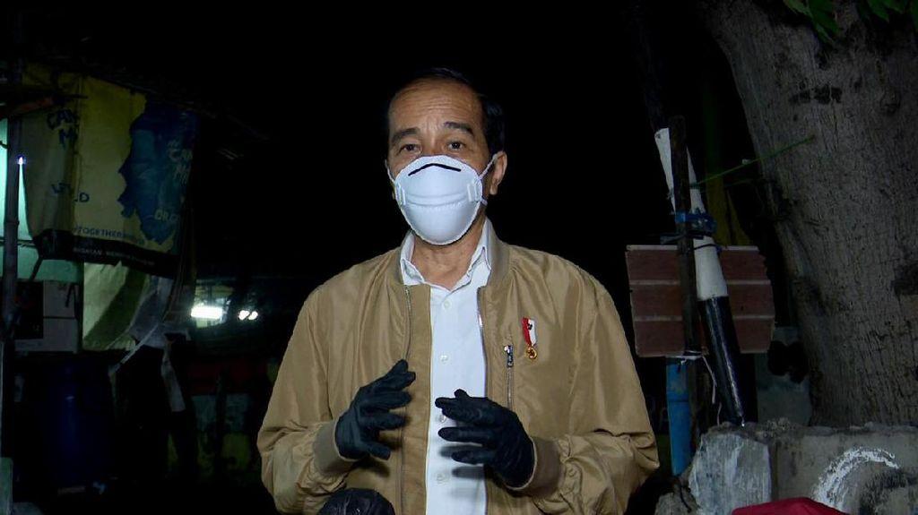 Turunnya Kepuasan ke Jokowi Versi Survei di Tengah Lonjakan Corona