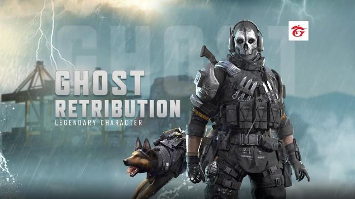 Karakter Ghost Hadir Dalam Versi Legendary di Call of Duty: Mobile