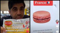 Mampir McD di 21 Negara, TikToker Ini Temukan Menu Pisang hingga Macaron