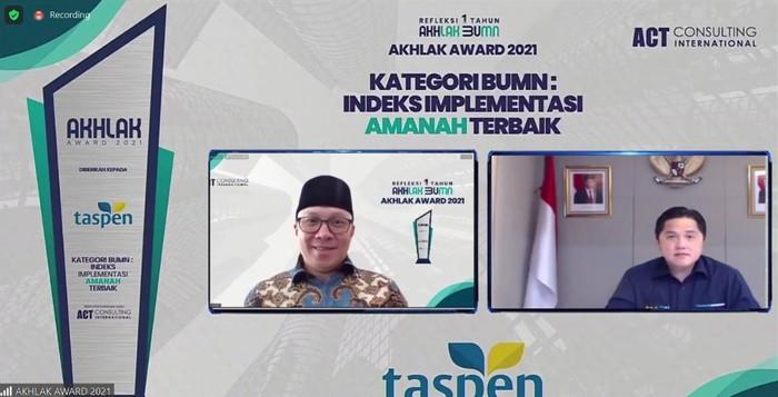 Penghargaan untuk Taspen