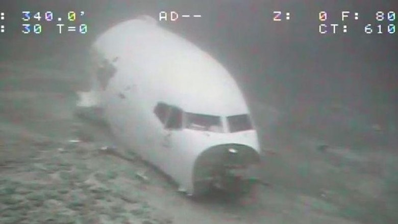 Pesawat jatuh di Hawaii
