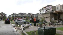 Rumah Rusak-Mobil Terbalik Dihempas Tornado di Ontario Kanada