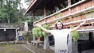 7 Potret Rumah Dodit Mulyanto di Tengah Hutan, Disebut Berhantu