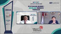 Telkom Group Jadi Juara Umum & Borong Penghargaan AKHLAK Award 2021