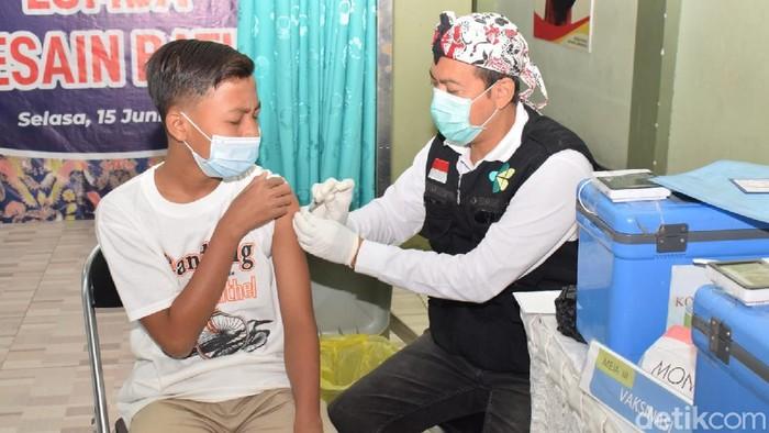 vaksinasi anak di lamongan