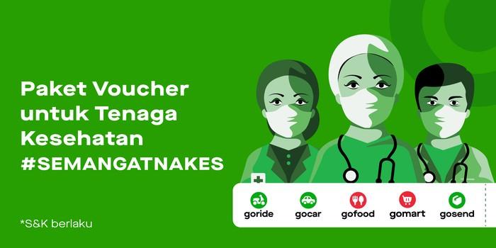Voucher Gojek untuk Nakes