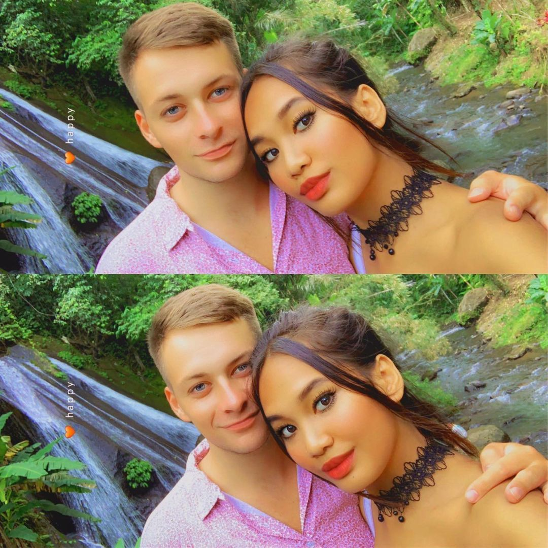 Alyssa Spischak dan suaminya, Evert, warga negara Estonia.