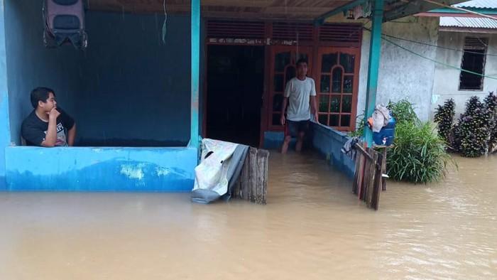 Banjir di Kabupaten Kapuas Hulu Kalbar