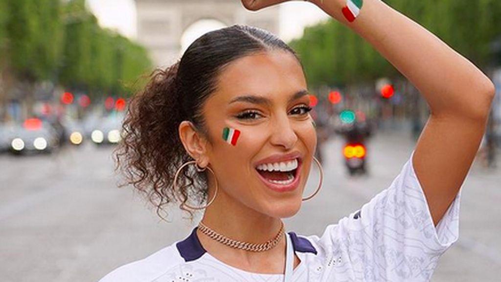 Potret Seksi Jessica Aidi, Dinikahi Verratti Setelah Italia Juara Euro 2020