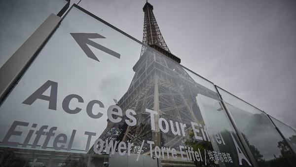 Diketahui Menara Eiffel mulai dibuka kembali untuk umum.
