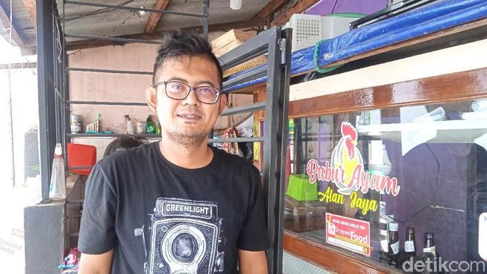 Penjual Bubur di Bandung