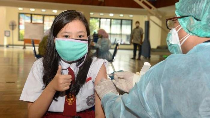 Vaksinasi Corona terhadap anak di Sesko AL