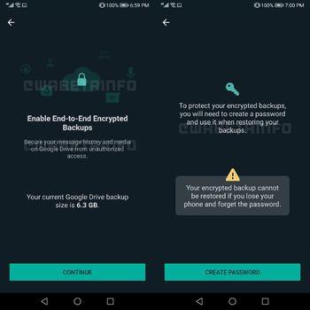 WhatsApp uji coba fitur backup terenkripsi