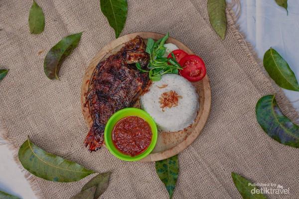 Salah satu menu di Taman Ingas (Melinda Afifah/dtravelers)