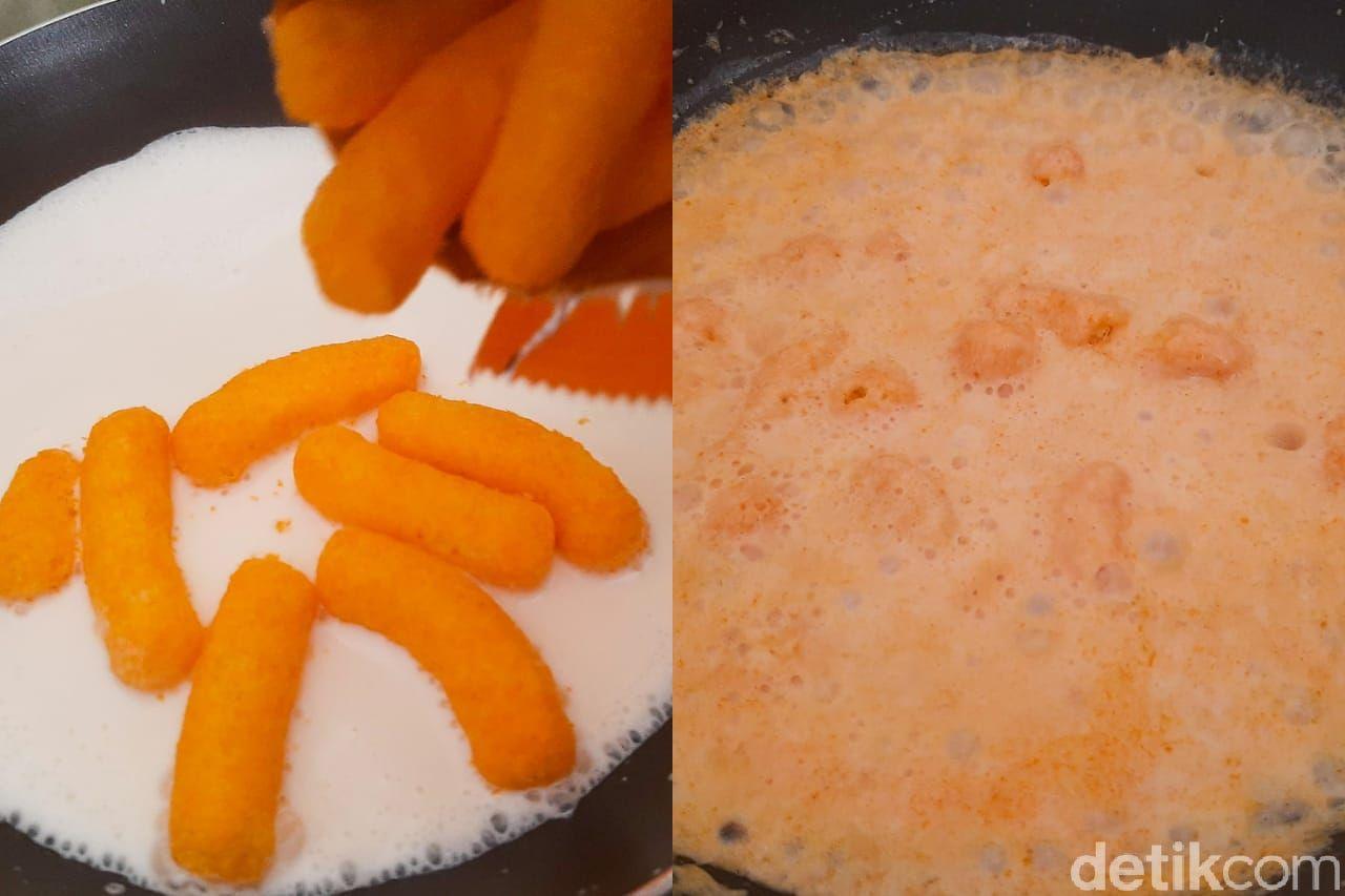 Indomie Kuah Cheetos Keju yang Viral di TikTok