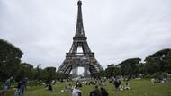Foto: Ramainya Menara Eiffel Pertama Saat Pertama Dibuka