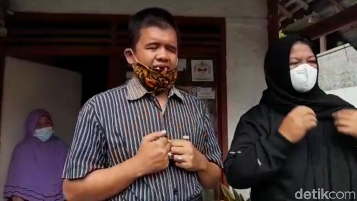Ujang Ahmad Ruhyat, disabilitas netra asal banjar dipalak orang tidak dikenal.