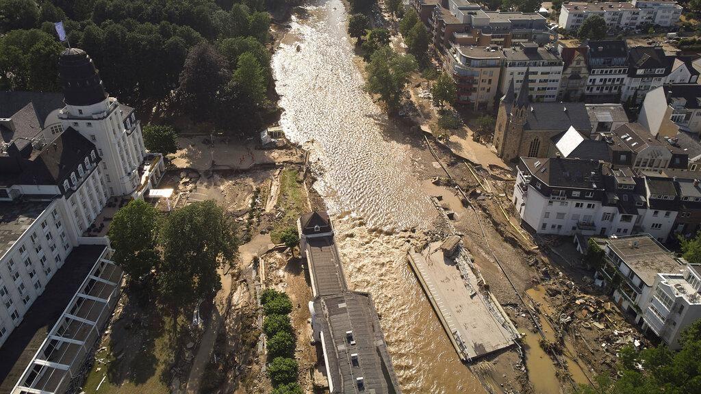 Banjir di Sejumlah Negara Eropa Dampak Nyata Perubahan Iklim