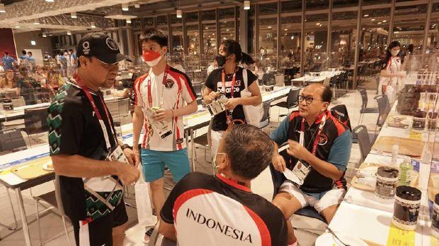 Bulutangkis Indonesia sudah tiba di kampung atlet Olimpiade Tokyo 2020
