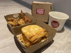 Count Three :Renyah Gurih Chicken Biscuit ala Southern Style Kekinian