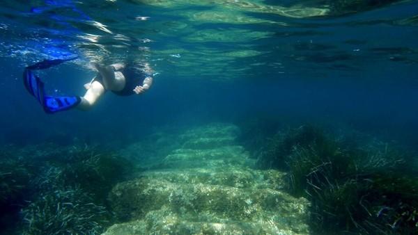 Begini penampakan salah satu sudut pelabuhan kuno di Siprus.
