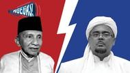 Pecah Kongsi HRS dan Amien Gegara Testimoni soal TNI-Polri