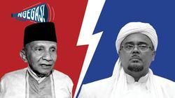 Amies Rais vs Habib Rizieq Soal Kasus Km 50
