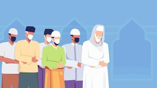 Protokol Kesehatan Salat Idul Adha di Wilayah Non-PPKM Darurat