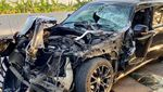 Penampakan Jeep Bos Garansindo Ringsek, Airbag Tak Keluar