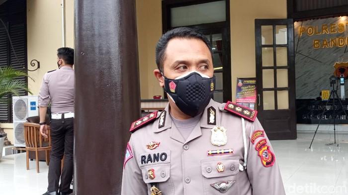 Kasatlantas Polrestabes Bandung AKBP M Rano Hadianto