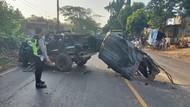 4 Orang Tewas dalam Tabrakan MPV dan Truk di Tuban