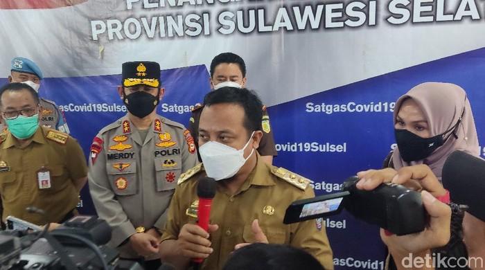 Plt Gubernur Sulsel Andi Sudirman Sulaiman (Hermawan/detikcom).
