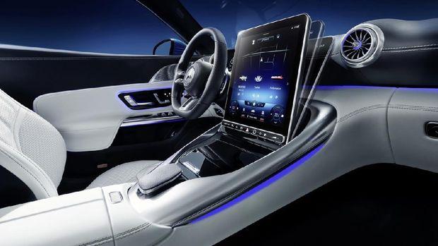 Vista interior del nuevo Mercedes-AMG SL