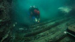 Bangkai Kapal Militer Ditemukan di Kota Kuno Mesir