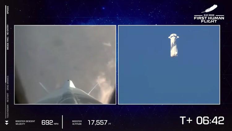 Blue Origin Bezos Flight