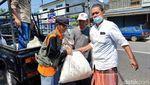 DKM Masjid Agung Ciamis Keliling Kota Bagikan Daging Kurban