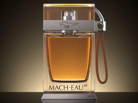 Ford Mach-Eau, parfum beraroma bensin