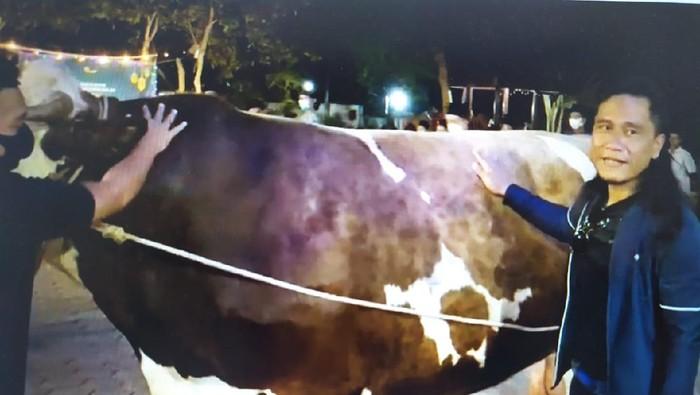 Gus Miftah dan sapi Limousin seberat 1,3 ton untuk kurban