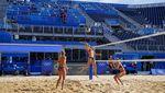 Intip Latihan Atlet Putri Voli Pantai Jelang Olimpiade Tokyo